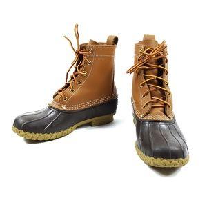 L.L. Bean Duck Bean Boots Leather Waterproof